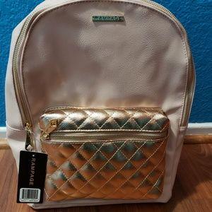 NWT Pale pink rampage backpack